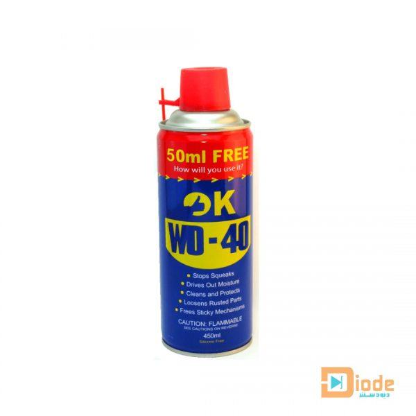 Lubricating spray OK WD-40