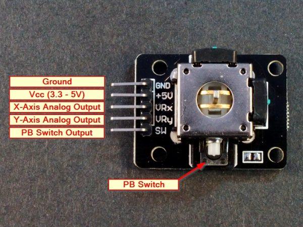 Joystick Module Connections