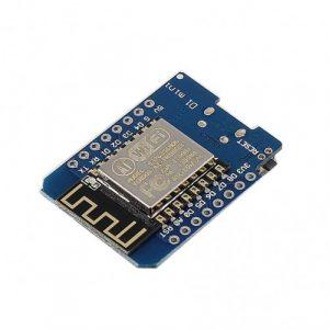 برد wemos D1 mini بر پایه ESP8266 با 4 مگابایت حافظه فلش و مبدل CH340G